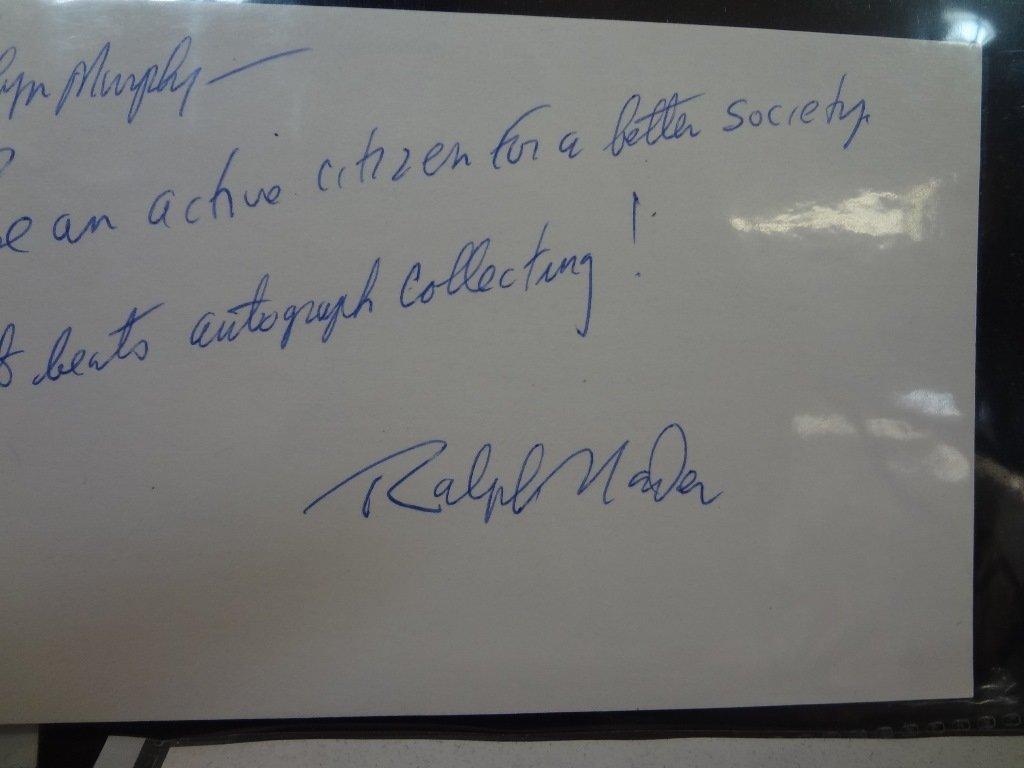 (10) Political Autographed Photos Rockefeller, Helms, - 6