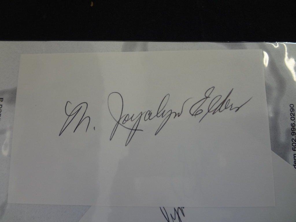 (10) Political Autographed Photos Rockefeller, Helms, - 7