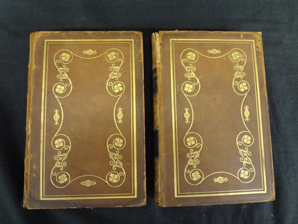 (2) Volumes Longfellow's Poems: Voices of the Night, - 2