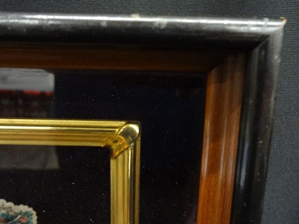 Deep Well Walnut Frame with (2) Victorian German Pop-Up - 4