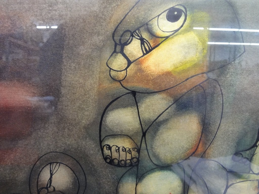 South African Artist Hargreaves Ntukwana Original - 2