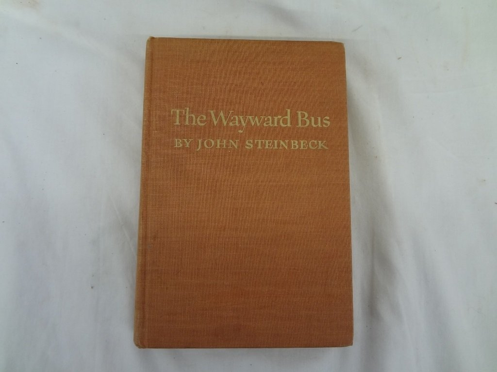 "John Steinbeck ""The Wayward Bus"" The Viking Press 1947"