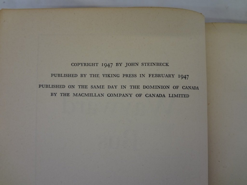 "John Steinbeck ""The Wayward Bus"" The Viking Press 1947 - 4"