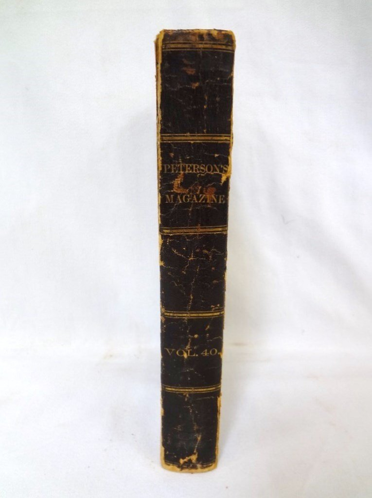 Peterson's Magazine 1861 39th Volume January-June with - 2