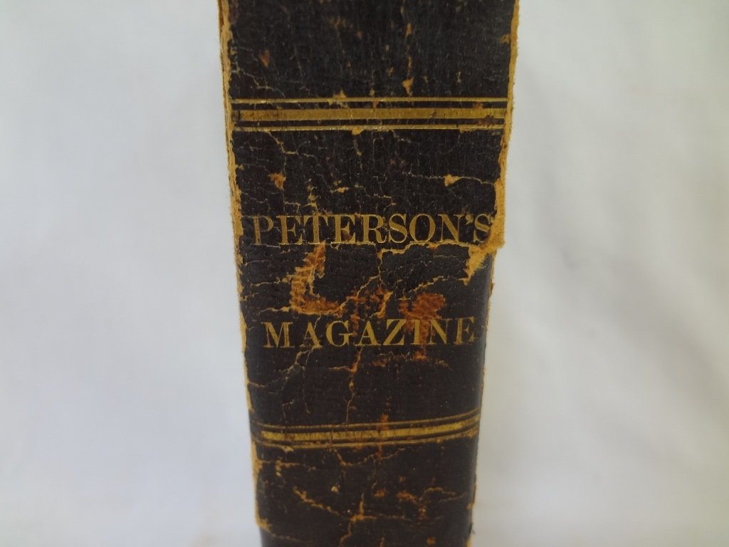 Peterson's Magazine 1861 39th Volume January-June with - 3
