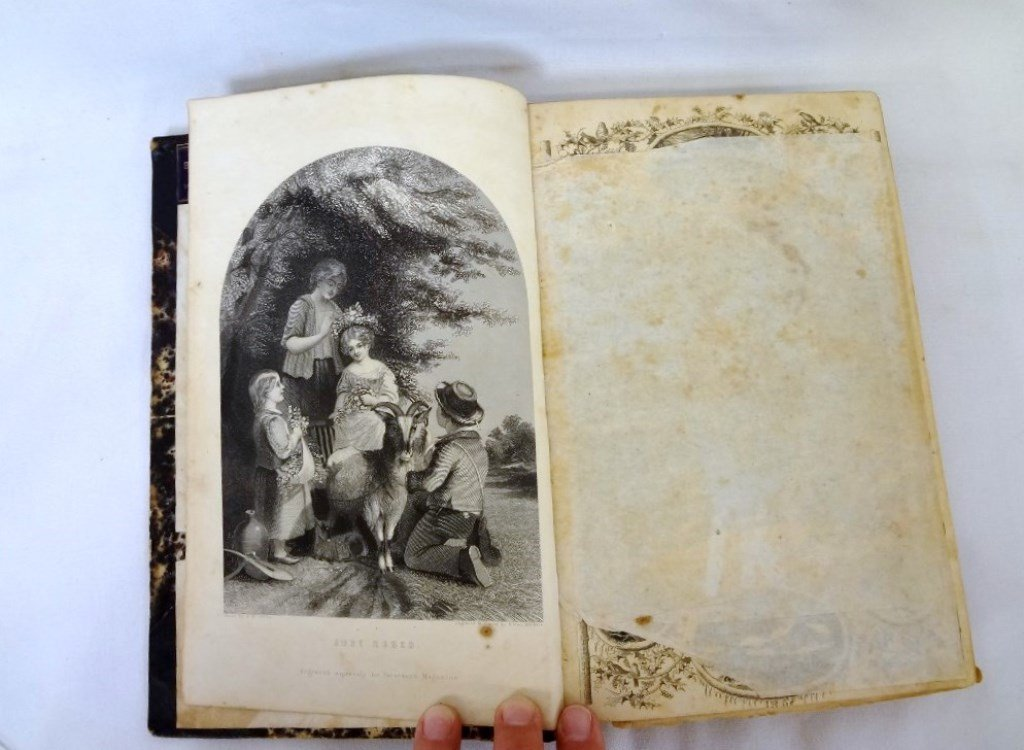 Peterson's Magazine 1861 39th Volume January-June with - 5