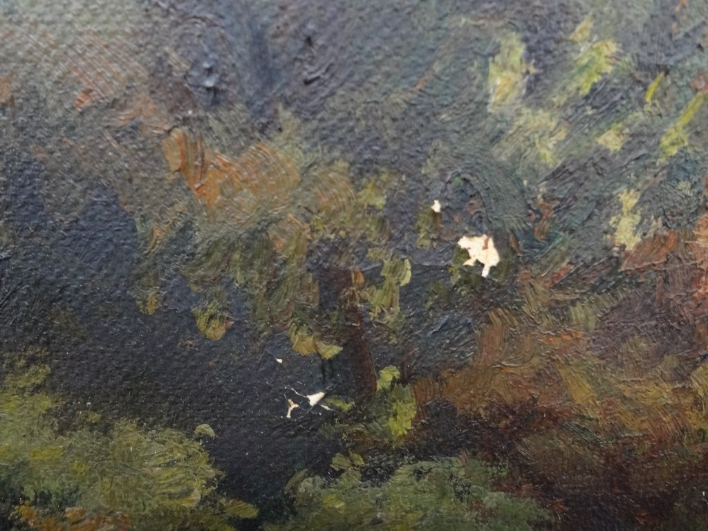 Sister Matilda Landscape Original Oil on Canvas 42 x 30 - 4