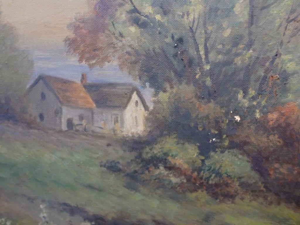 Sister Matilda Landscape Original Oil on Canvas 42 x 30 - 5