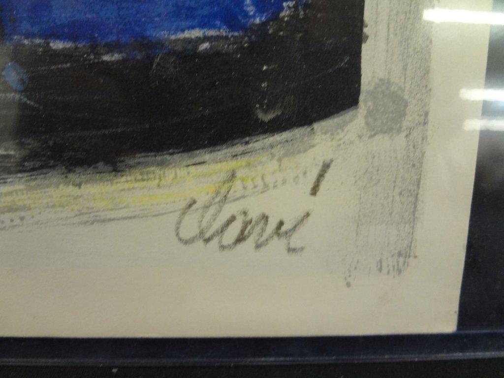 Antonio Clave 1956 Vintage Exhibition Poster - 2