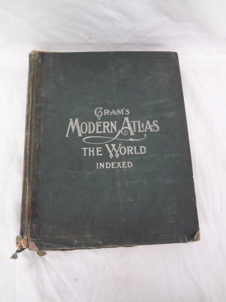Cram's Modern Atlas the World, Indexed Illustrated 1905