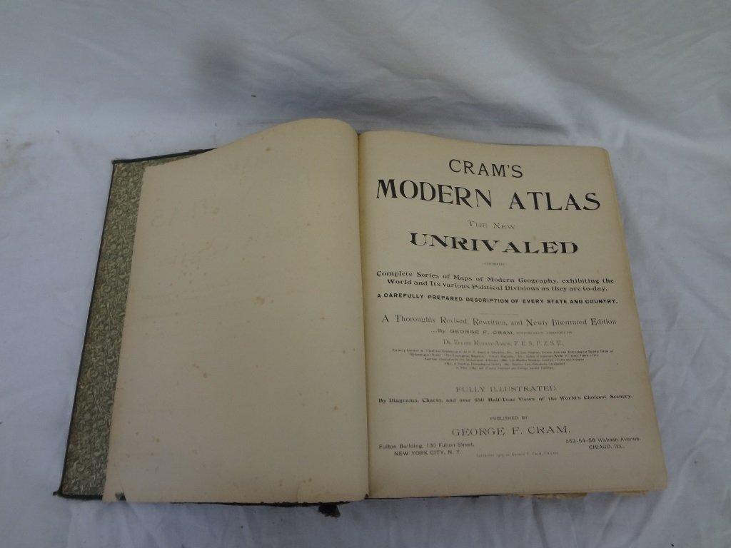 Cram's Modern Atlas the World, Indexed Illustrated 1905 - 3