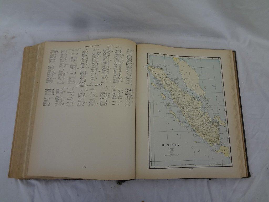 Cram's Modern Atlas the World, Indexed Illustrated 1905 - 6