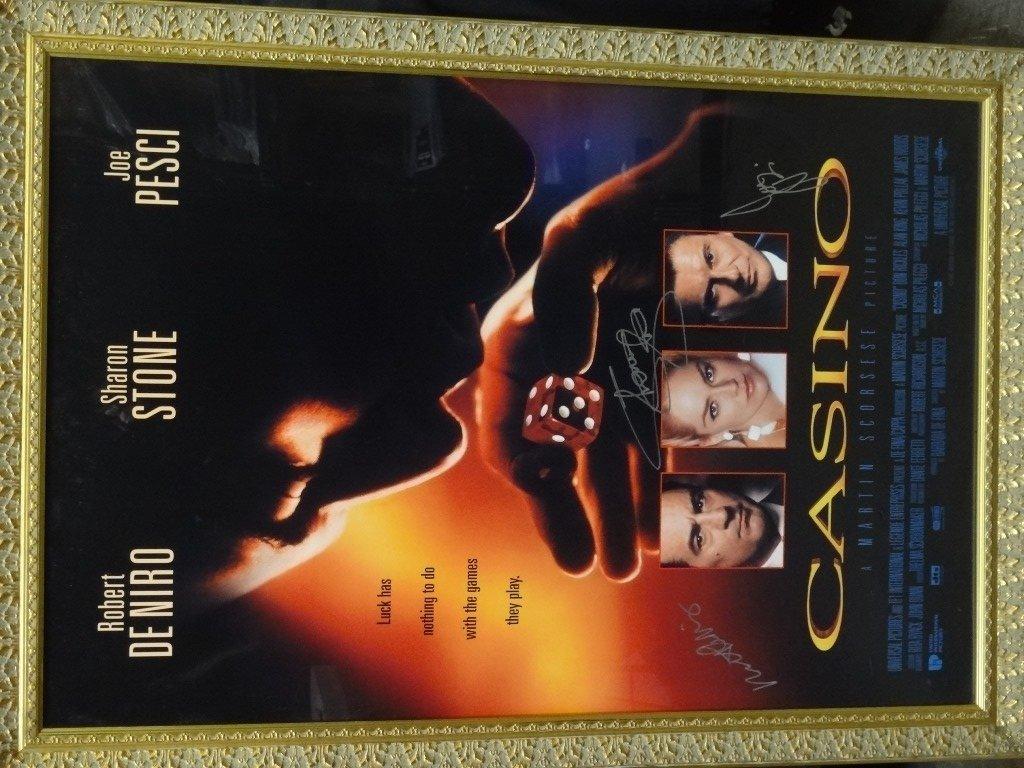 Casino Movie poster Framed Sharon Stone, Joe Pesci,