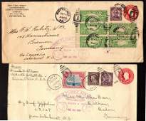 (3)Different U.S. Graf Zeppelin Air Flight Covers