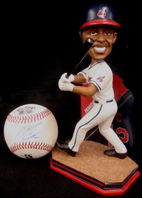 Francisco Lindor Autographed Baseball and Ltd Ed