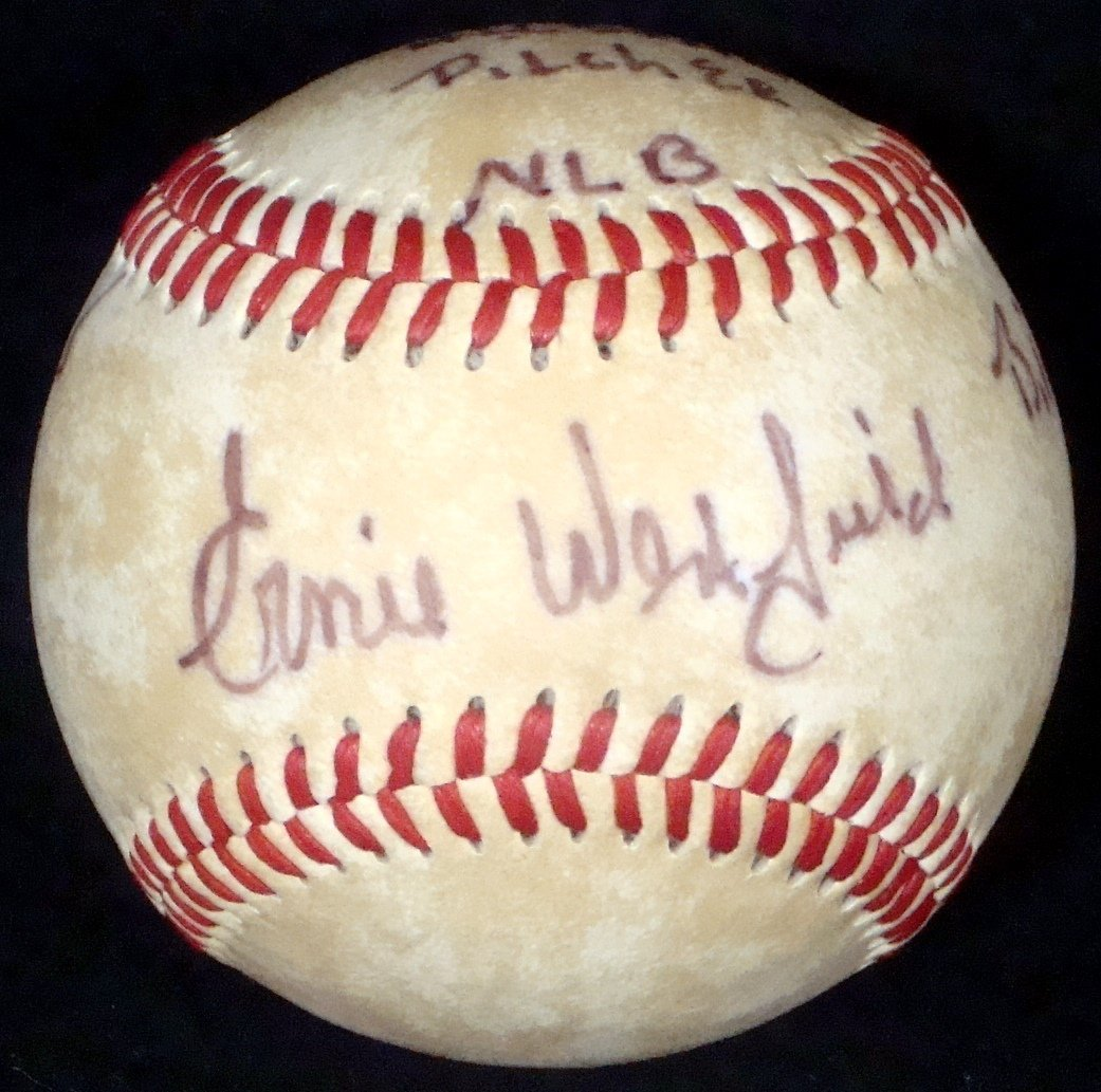 "Ernie Westfield Signed and Inscribed ""Birmingham Black"