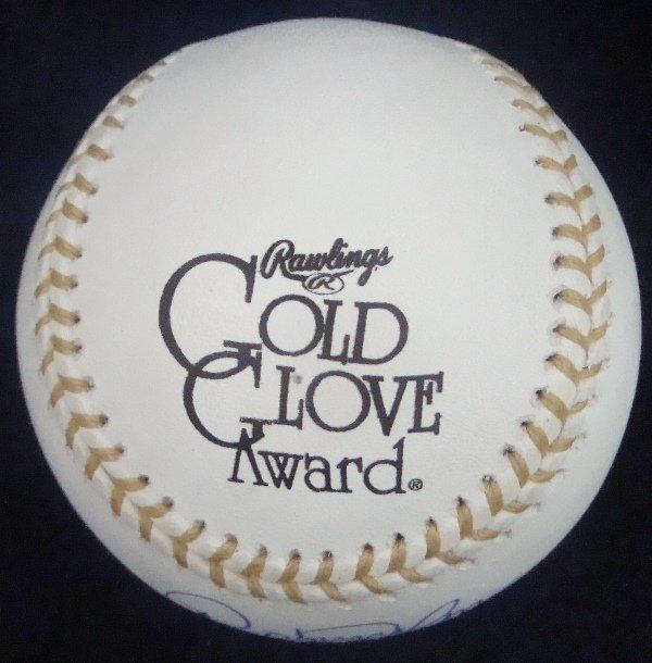 Roberto Alomar Single Signed Rawlings Gold Glove - 2