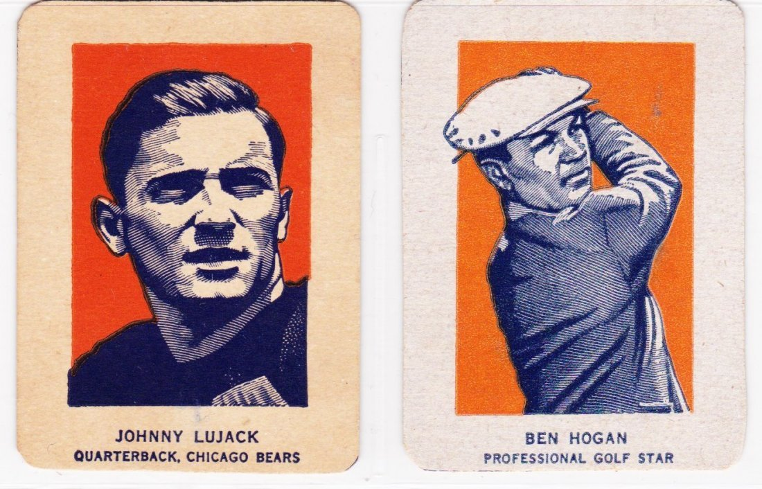 Lot of (3) Star Cards, (2) 1950's Wheaties and (1) 1969 - 2