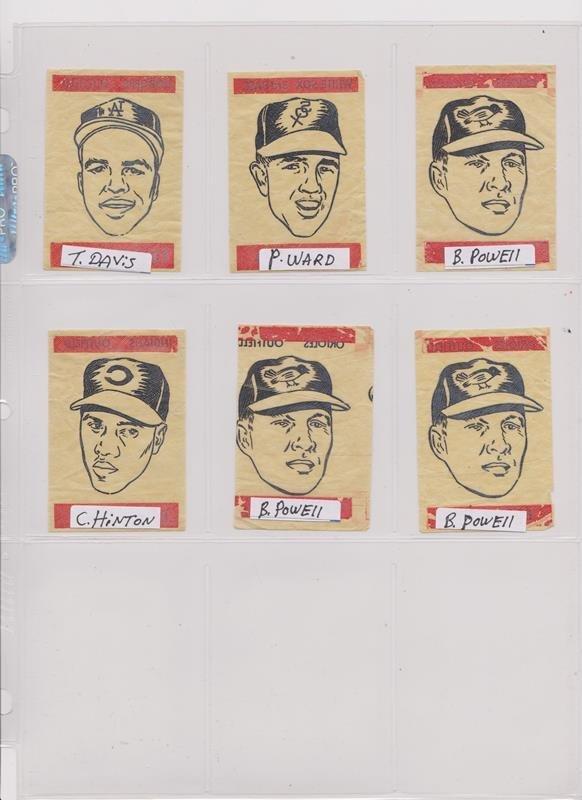 1963 Topps Peel-Offs Baseball Cards. (40+) w Stars - 3