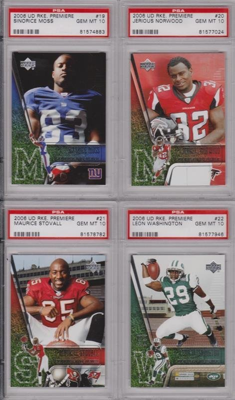 Lot of (20) 2006 Football Rookie Lot, All PSA Graded - 4