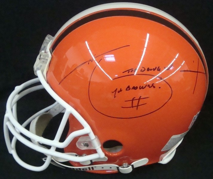 Hanford Dixon Autographed Full Size Cleveland Browns