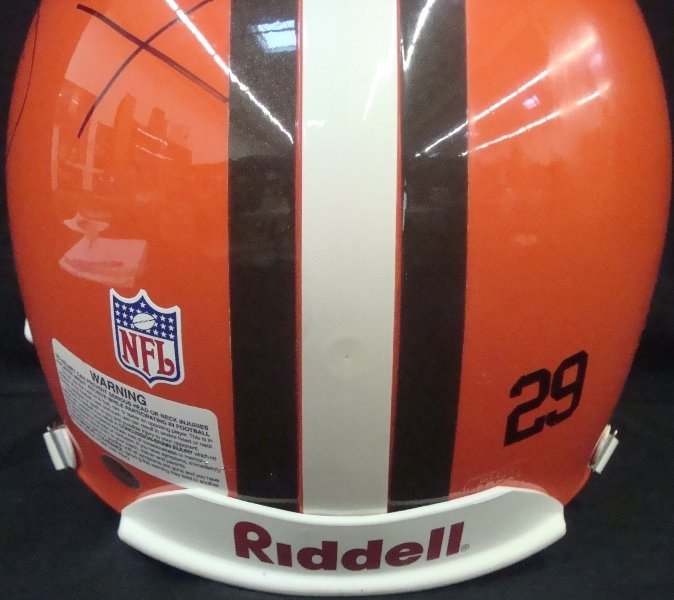 Hanford Dixon Autographed Full Size Cleveland Browns - 4