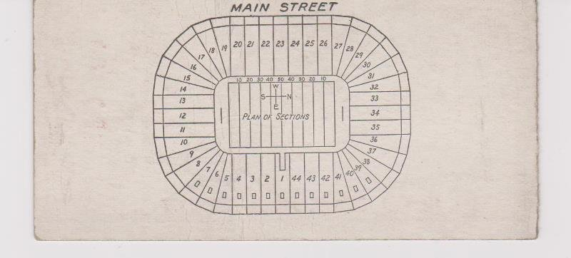 1927 Ohio State vs. University of Michigan Football - 2