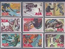 1966 Topps Batman Red Bat Complete Set, (44) Cards