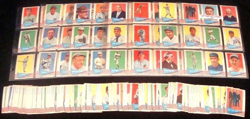 Lot of (2) 1961 Fleer Baseball Greats Card Lots - 2