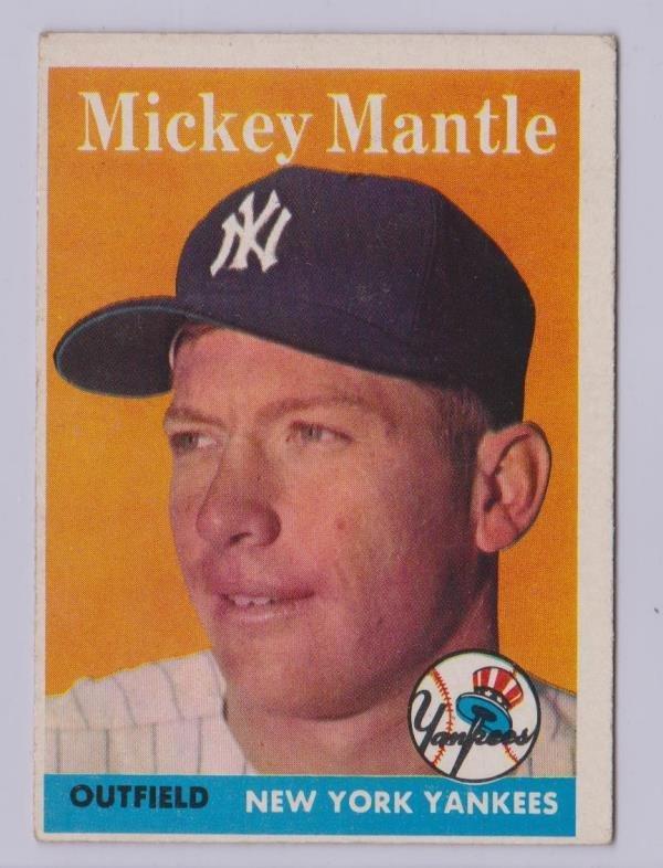 1958 Topps Baeeball Complete Set, (494) Cards w Maris - 3