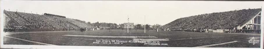 1919 Ohio State Michigan Real Panoramic Photo