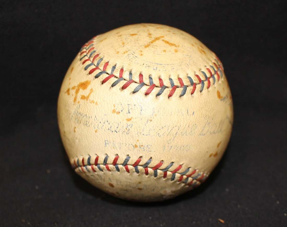 (2) 1930's Baseball Boxes (1) w/1934-39 Harridge Ball - 3