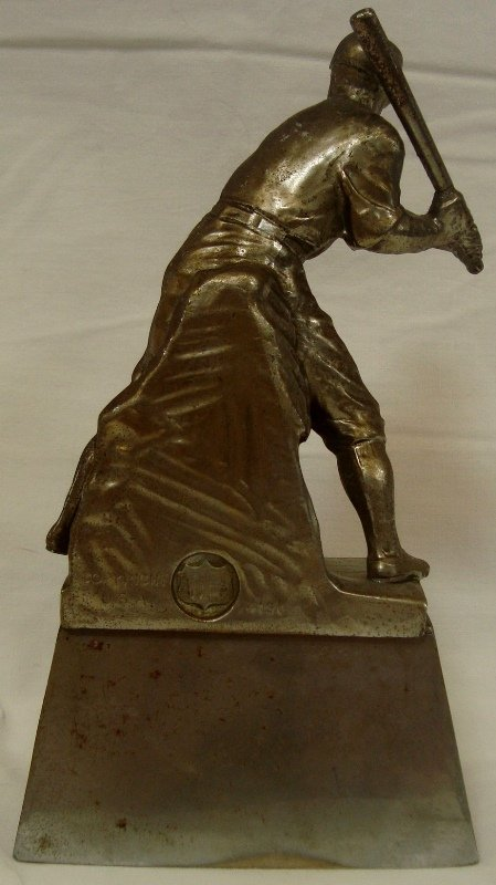1929 CABA Major Indoor Champions Baseball Trophy - 3