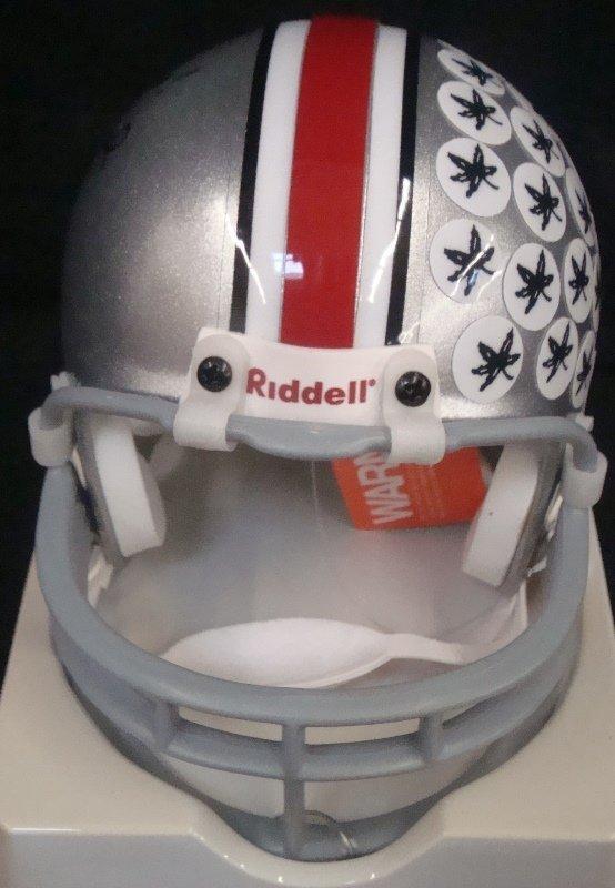 Jim Tressel Autographed Ohio State Mini Helmet - 3