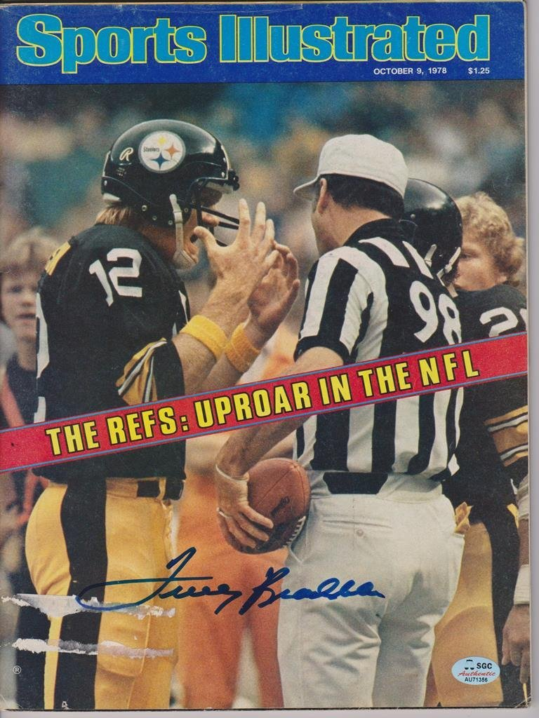 Terry Bradshaw Autographed 1978 Sports Illustrated