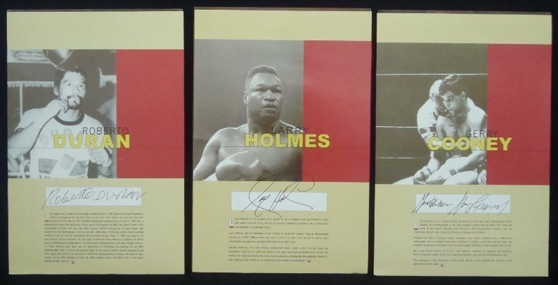Lot of (3) Silk Road Gifts Boxing Series Cast Hand - 3