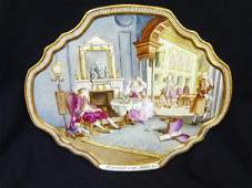 Hand Painted Porcelain Tray William Hogarth Marriage A