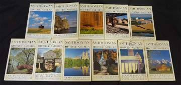 The Smithsonian Guide To Historic America 11 volumes