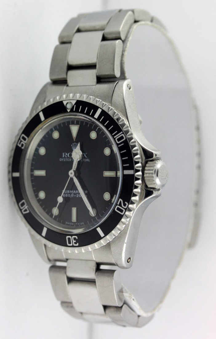 Rolex 5513 Vintage Submariner Men's Watch 1963