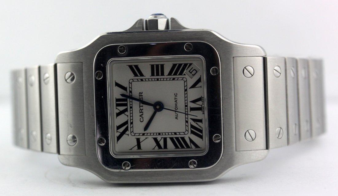 Cartier 2823 Santos Galbee XL Automatic Men's Watch - 2