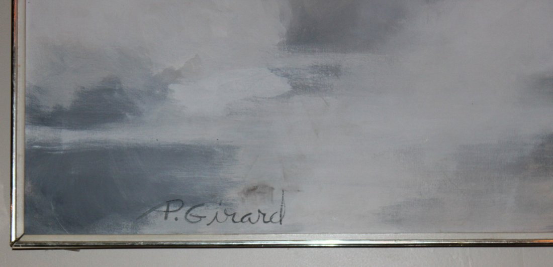 P Girard Abstract Oil Painting - 2