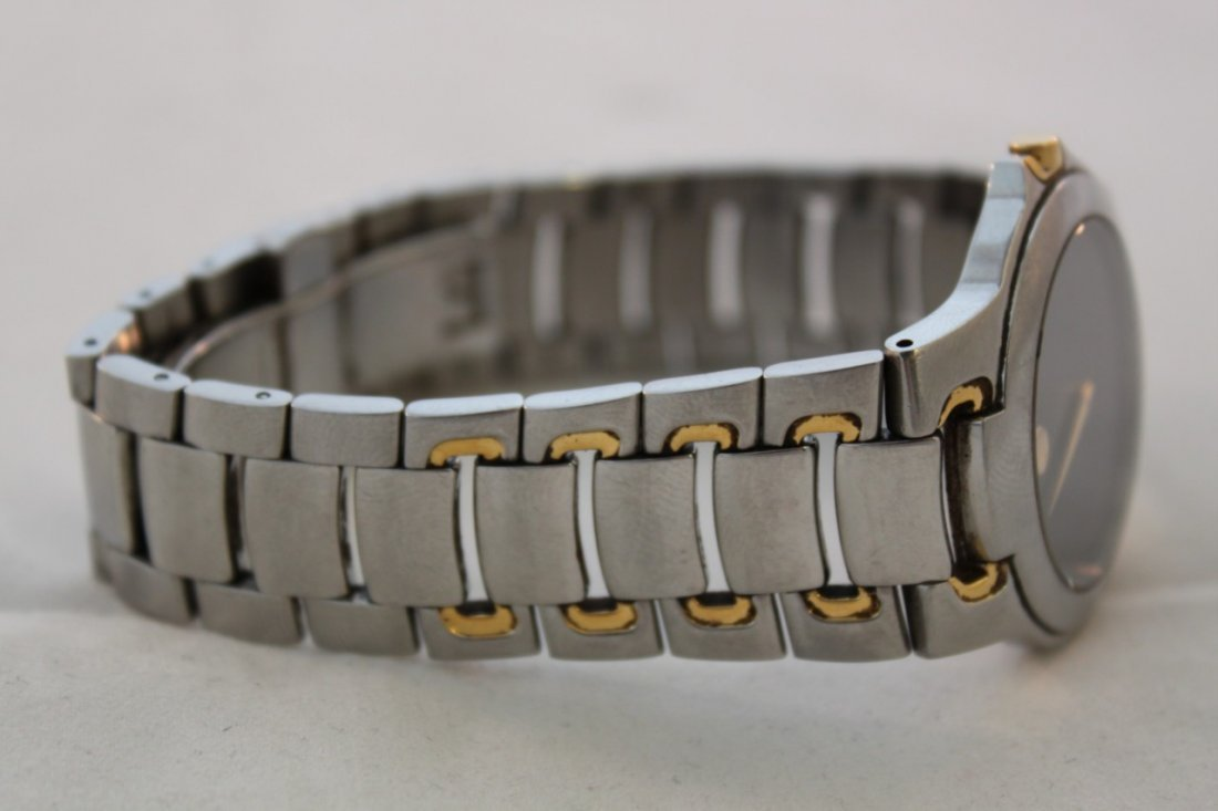 Used Movado Watch 81 G1 1898 Stainless Steel Two Tone - 2