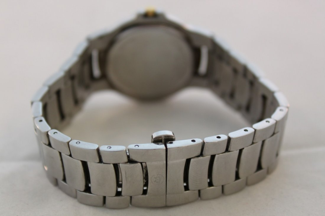 Used Movado Watch 81 G1 1898 Stainless Steel Two Tone - 3