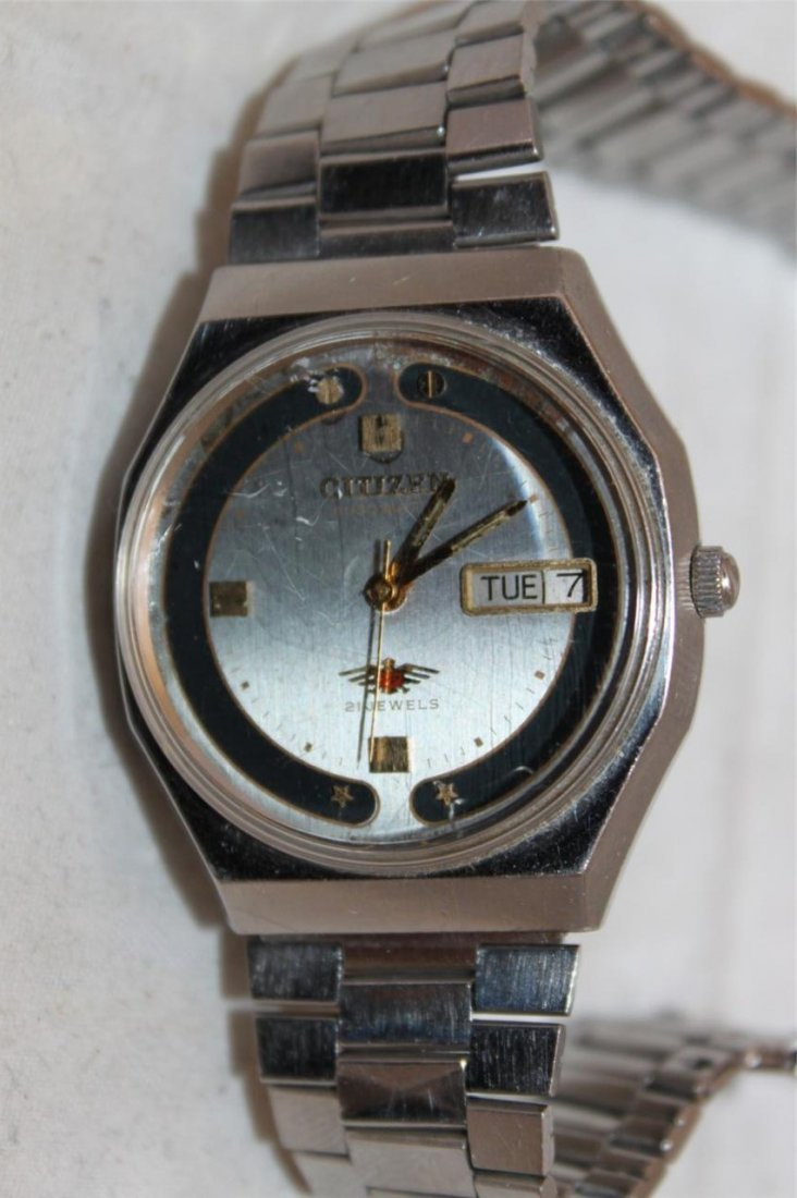 Citizen Vintage Eagle 7 Automatic 21 Jewels Stainless