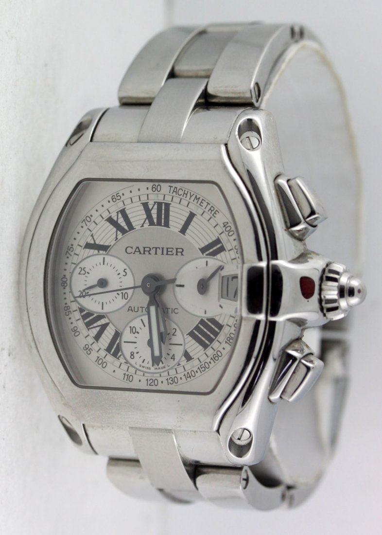 Cartier Roadster Automatic Chronograph Men's Watch