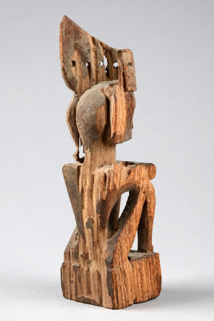 "Seated ancestor figure ""iene"" - Indonesia - Moluccas - - 3"
