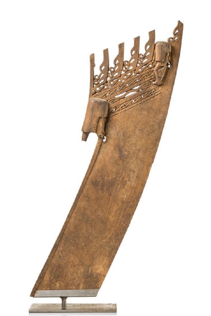 Prow ornament of a canoe - Papua New Guinea - Geelvink
