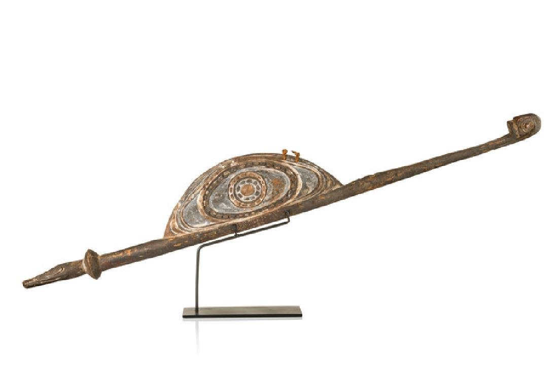 "Spear thrower ""mino"" - Papua New Guinea - Middle Sepik,"
