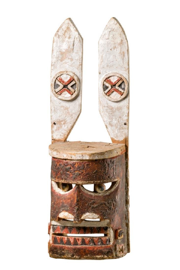 "Mask ""malangan"" with ear planks - Papua New Guinea -"