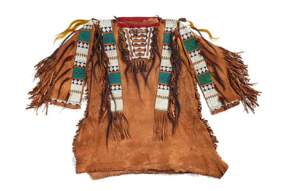 Warrior's shirt in Sioux style - Sioux style